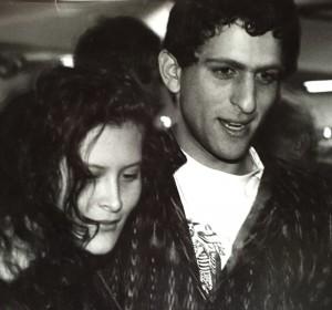 Johanne and Hanaan circa 1990